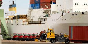 Containerbåt - Stora Enso Skog