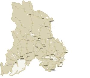 Våra regioner - Stora Enso Skog