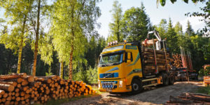 Timmerbil - Stora Enso Skog
