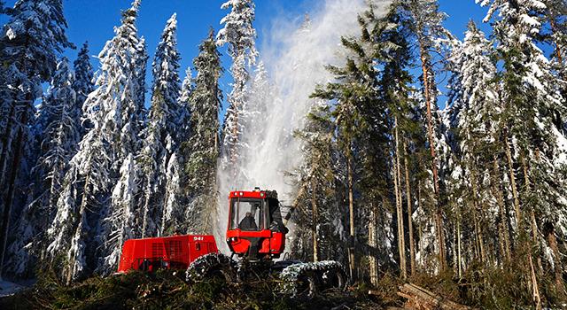 Upp for svensk skogsindustri