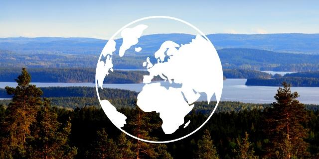 Jordglob - Stora Enso Skog