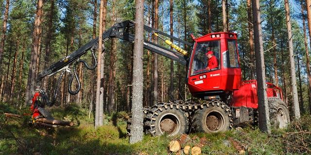 Skogsmaskin - Stora Enso Skog